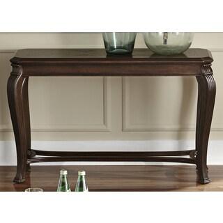 Copy of Liberty Ash Burl and Pecan Sofa Table