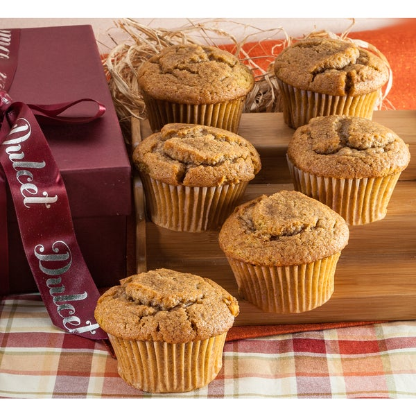 Gourmet Pumpkin Muffins