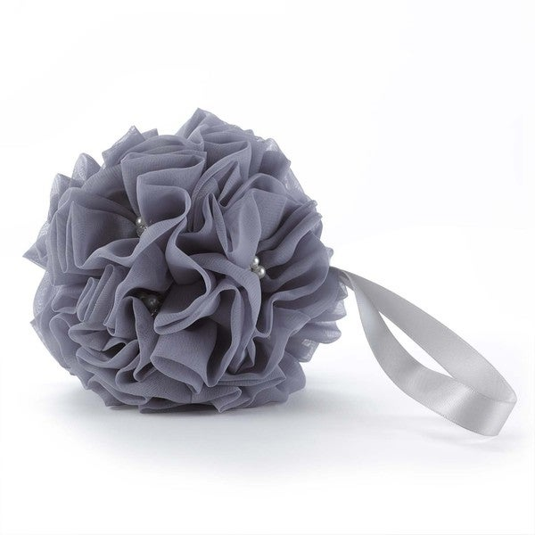 Glamorous Grey Kissing Ball