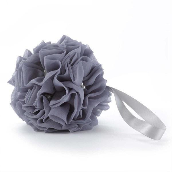 Glamorous Grey Kissing Ball