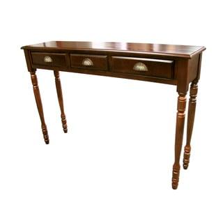 Hand-crafted Savana 3-drawer Hall Table (Indonesia)