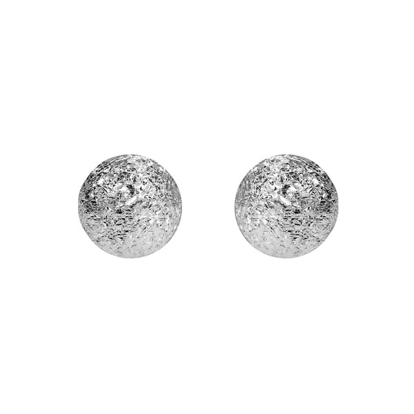 5mm Stardust Ball .925 Sterling Silver Stud Earrings (Thailand)