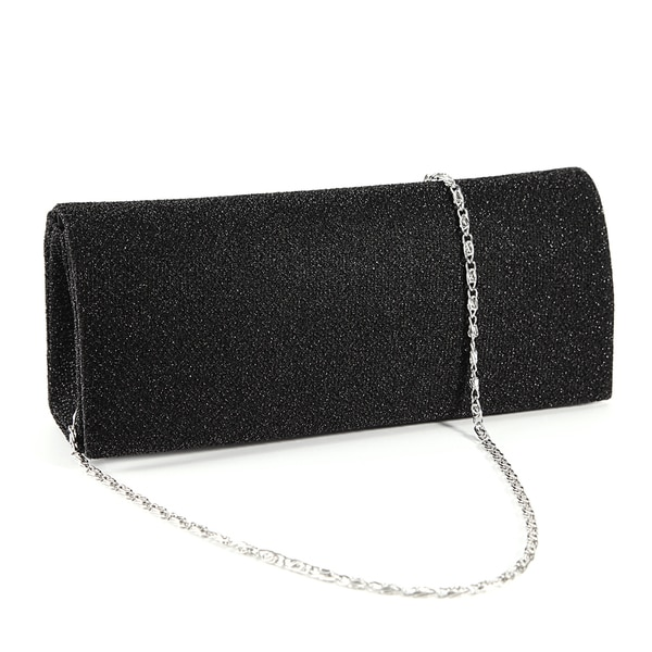 Anladia Dazzling Glitter-woven Clutch