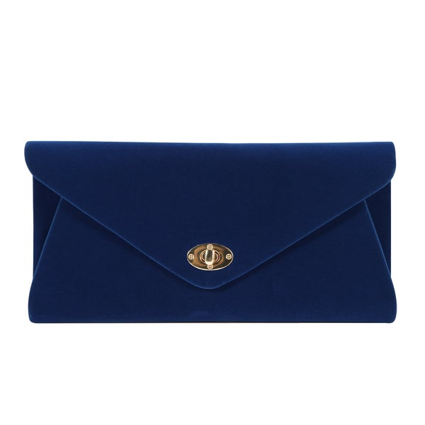 Anladia Velvet Envelope Clutch