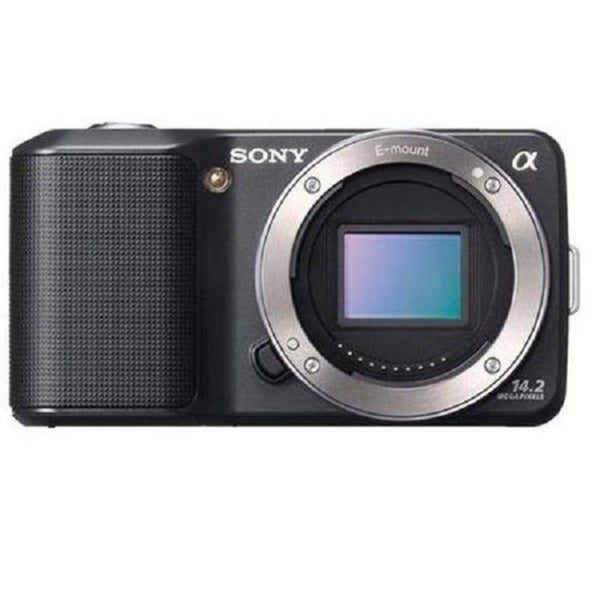 Sony Alpha NEX-3N Mirrorless Black Digital Camera Body