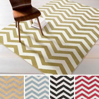 "Meticulously Woven Purdy Modern Geometric Area Rug (9'3"" x 12'6"")"
