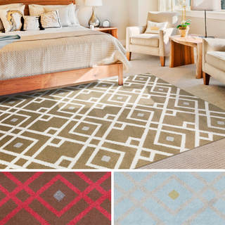 """Meticulously Woven Wakefield Transitional Geometric Area Rug (9'3"""" x 12'6"""")"""