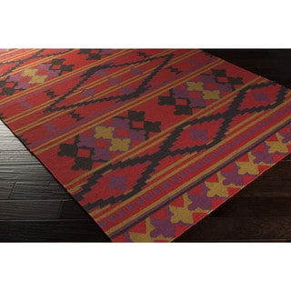 Chartres Flatweave Southwestern Accent Rug (2' x 3')