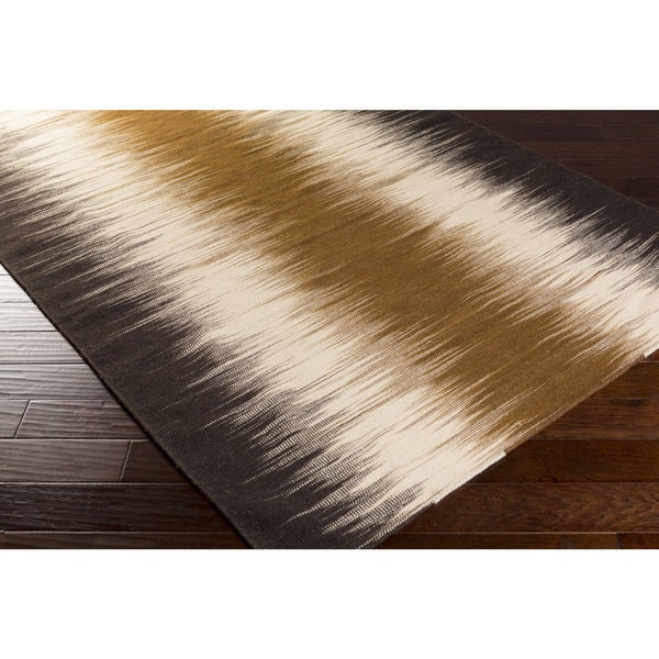Denis Flatweave Abstract Area Rug (5' x 8')