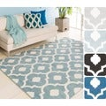 Zane Contemporary Trellis Area Rug-(5'3 x 7'3)