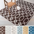 Meticulously Woven Tampa Modern Geometric Area Rug (7'10