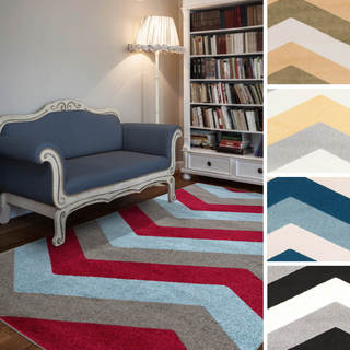 "Meticulously Woven Hamilton Contemporary Area Rug (5'3"" x 7'3"")"