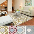 Meticulously Woven Brieuc Transitional Geometric Area Rug (7'10