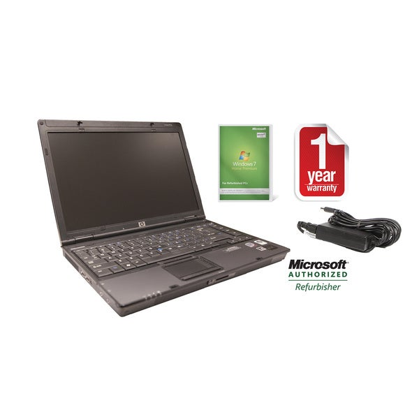 HP EliteBook Intel Core2Duo 2.0GHz 15.4-inch Windows 7 Home Premium Laptop Computer (Refurbished)