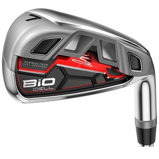 Cobra Men's BiO CELL Red 4-thru PW, GW Iron Set