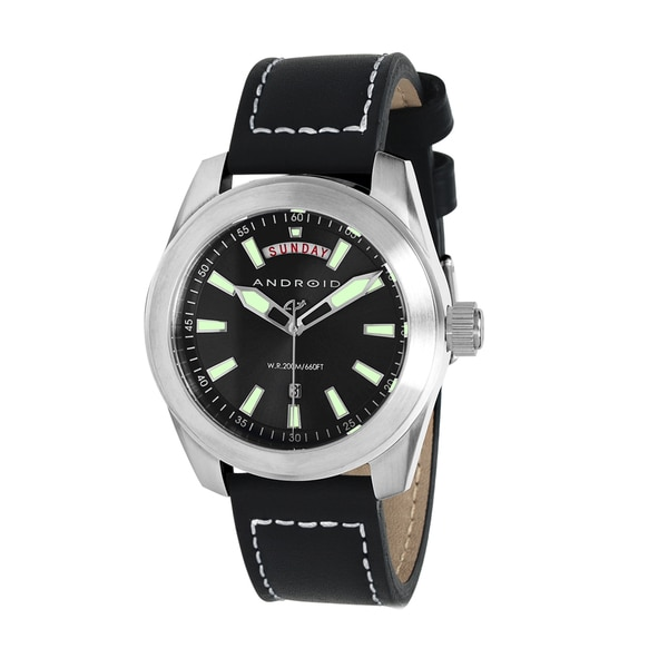 "ANDROID Men's ""Skyguardian Day/Date"" Black Watch"