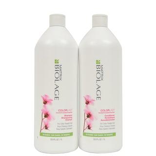 Matrix Biolage ColorLast 33.8-ounce Shampoo and Conditioner