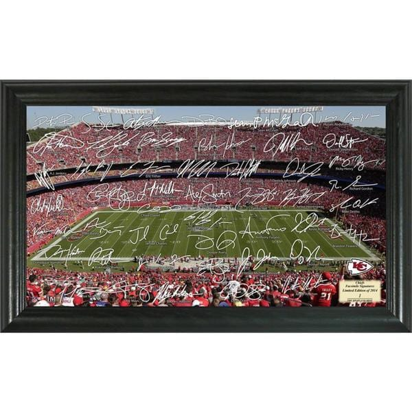 NFL Kansas City Chiefs Signature Gridiron Collection