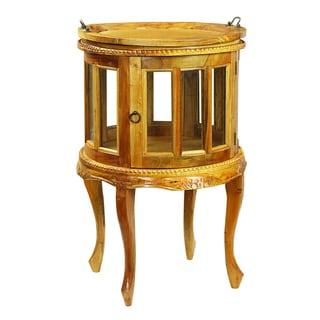 Joselin Display Cabinet w/ Tray