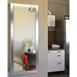 American Made Rayne Minimal Silver 24.5 x 62.5 Full Body Mirror