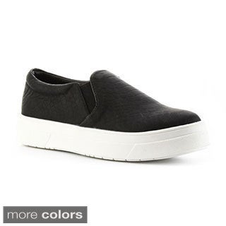 Cape Robbin Women's 'Adelaide-YX-2' Slip-on Sneakers
