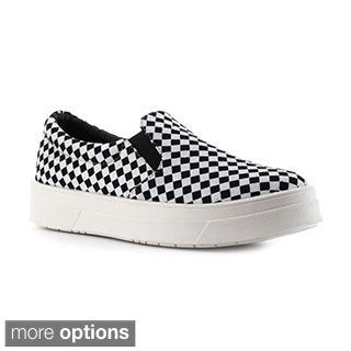 Cape Robbin Women's 'Adelaide-YX-1' Patterned Sneakers