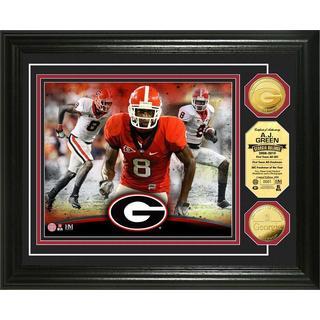 """NCAA AJ Green """"Georgia"""" Gold Coin Photo Mint"""