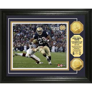 "NFL Golden Tate ""Notre Dame"" Gold Coin Photo Mint"