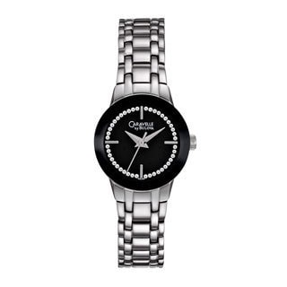 Caravelle by Bulova Women's 43L130 Crystal Stainless Steel Watch