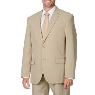 Bolzano Uomo Collezione Men's Beige 2-button Suit
