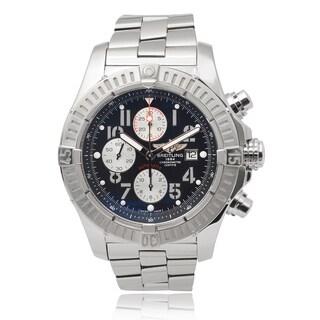 Breitling Men's 'Super Avenger' Chronograph Link Watch