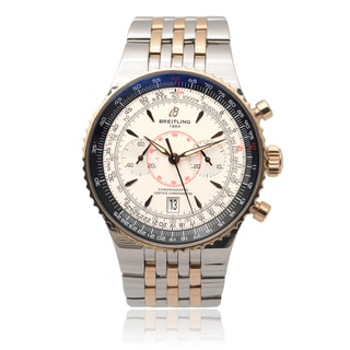 Breitling Men's 'Montbrilliant' Chronograph Link Watch