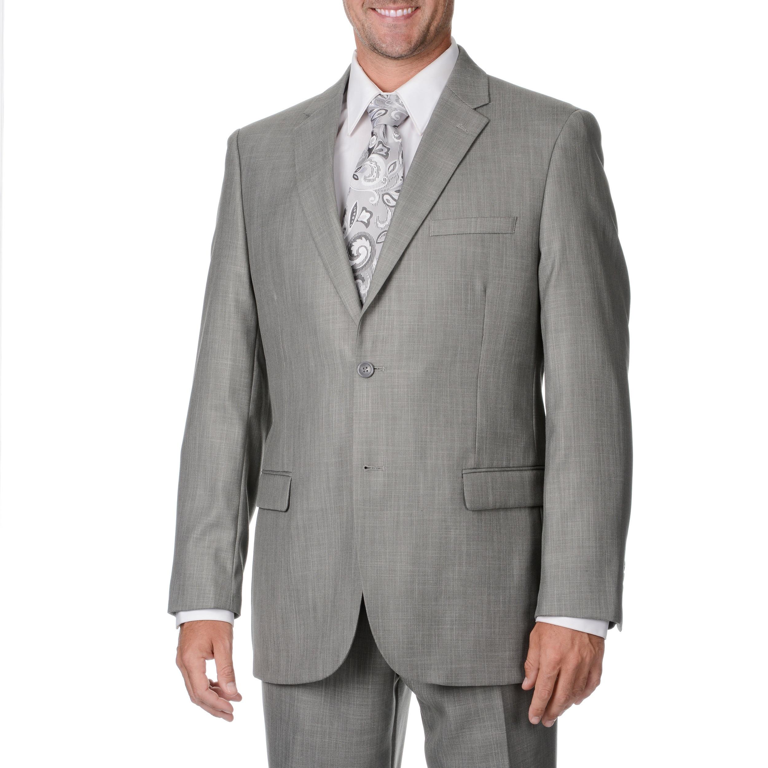 Overstock.com Caravelli Italy Men's Light Grey 2-piece Suit at Sears.com