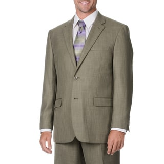 Caravelli Italy Men's Taupe 2-piece Suit
