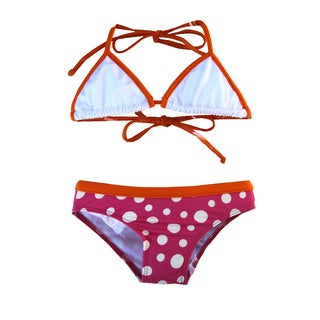 Azul Swimwear Girls Dippin Dots 2-piece Bikini Set