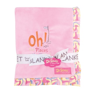 Trend Lab Dr. Seuss Oh The Places You'll Go Receiving Blanket