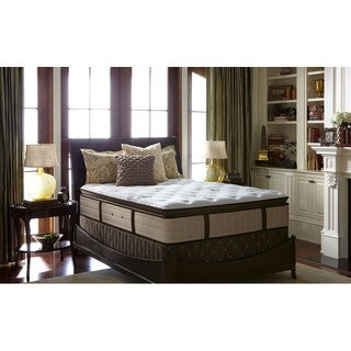 Stearns and Foster Estate Collection Luxury Firm Euro Pillow Top Queen-size Mattress Set