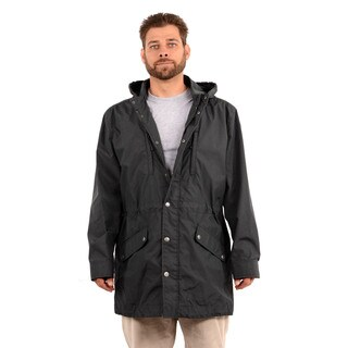Hickey Freeman Men's Black Hooded Jacket