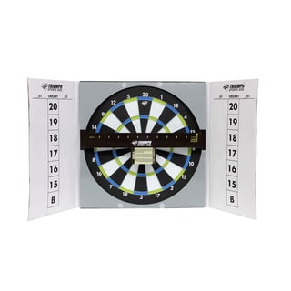 Triumph Sports Game Night Steel Dartboard Game Station