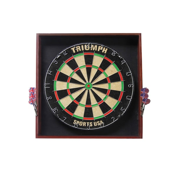 Triumph Sports Deluxe Backboard/ Dartboard Combo