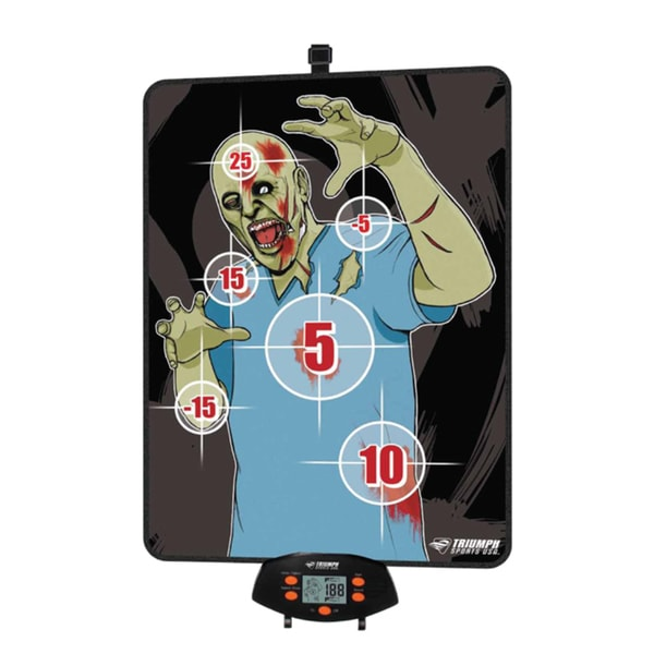 Triumph Sports Over The Door Zombie Bow Hunting Target Game