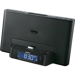Sony Desktop Clock Radio Speaker Dock for iPod/iPhone (Reconditioned)