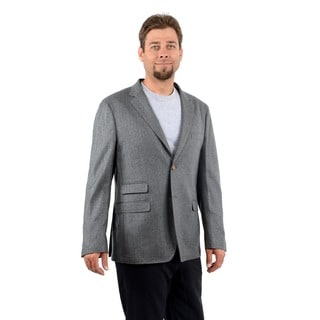 Scott James Men's URS Herringbone 2-button Jacket