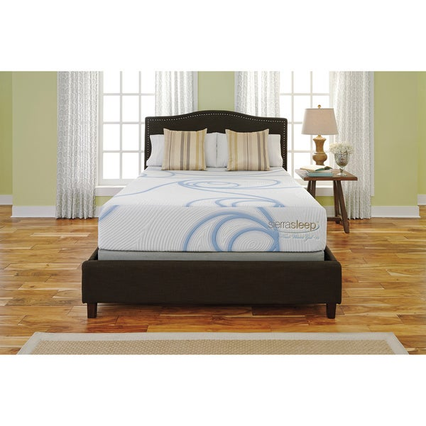 Sierra Sleep 12-inch King-size Gel Memory Foam Mattress