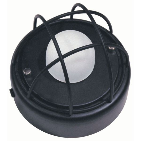 Black Metal Wall Ceiling Lamp with Bulb