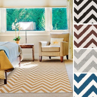 "Meticulously Woven Fargo Geometric Area Rug (3'3"" x 5')"
