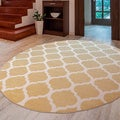 Meticulously Woven Nyles Modern Geometric Area Rug (7'10