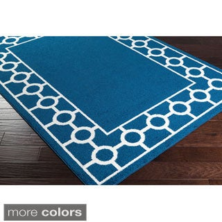 Meticulously Woven Cambrai Transitional Geometric Area Rug (2' x 3')