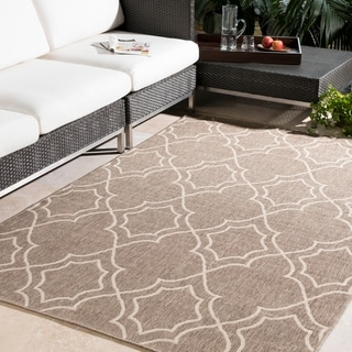 Natasha Contemporary Trellis Indoor/ Outdoor Area Rug (8'9 x 12'9)