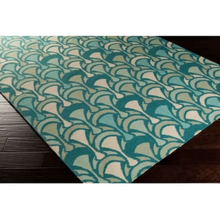 Grayson Flatweave Reversible Abstract Area Rug (2'6 x 8')